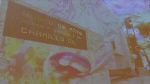 """El colectivo de arte Palmera Ardiendo se encuentra actualmente en el Museo de Arte Carrillo Gil dentro del programa """"Tiempo Compartido""""."""